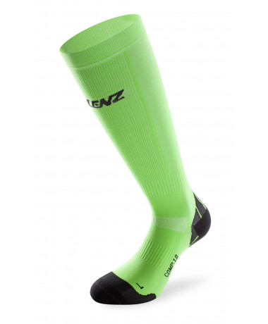 135 compression socks 1.0 flashgreen