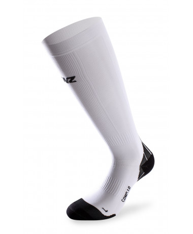135 compression socks 1.0 white